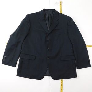 Jones New York 46 Short Black Three Button Suit Ja
